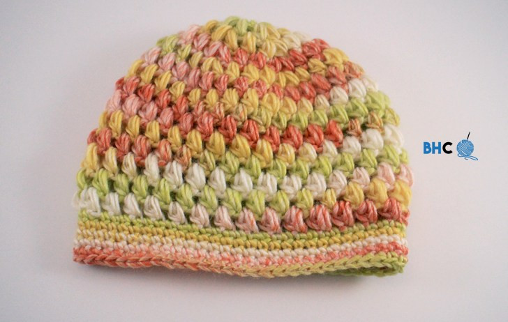 5.5 Mm Crochet Hook Awesome Puff Stitch Hat Free Crochet Pattern B Hooked Crochet Of Attractive 45 Pictures 5.5 Mm Crochet Hook