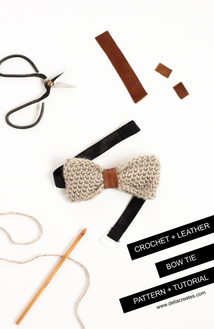 5.5 Mm Crochet Hook Lovely Crochet Leather Bow Tie Tutorial Of Attractive 45 Pictures 5.5 Mm Crochet Hook