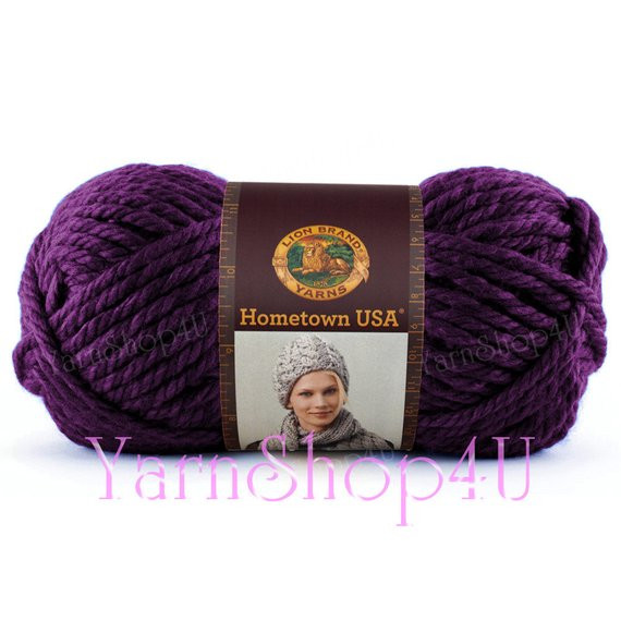 5 Bulky Yarn Inspirational Portland Wine Purple Hometown Usa by Lionbrand Super Of Superb 41 Images 5 Bulky Yarn