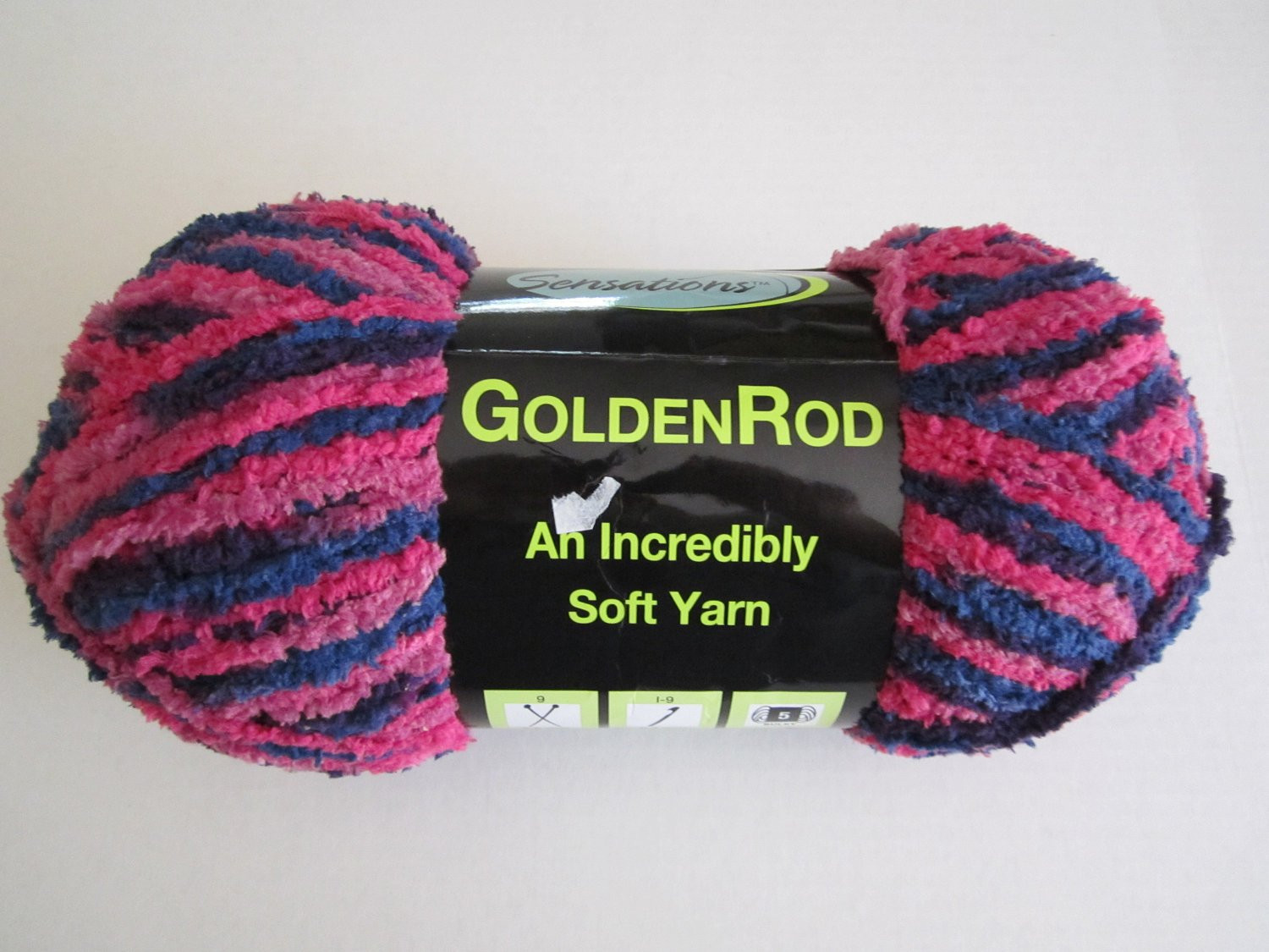 Sensations Golden Rod Soft Yarn Bulky 5 NEW