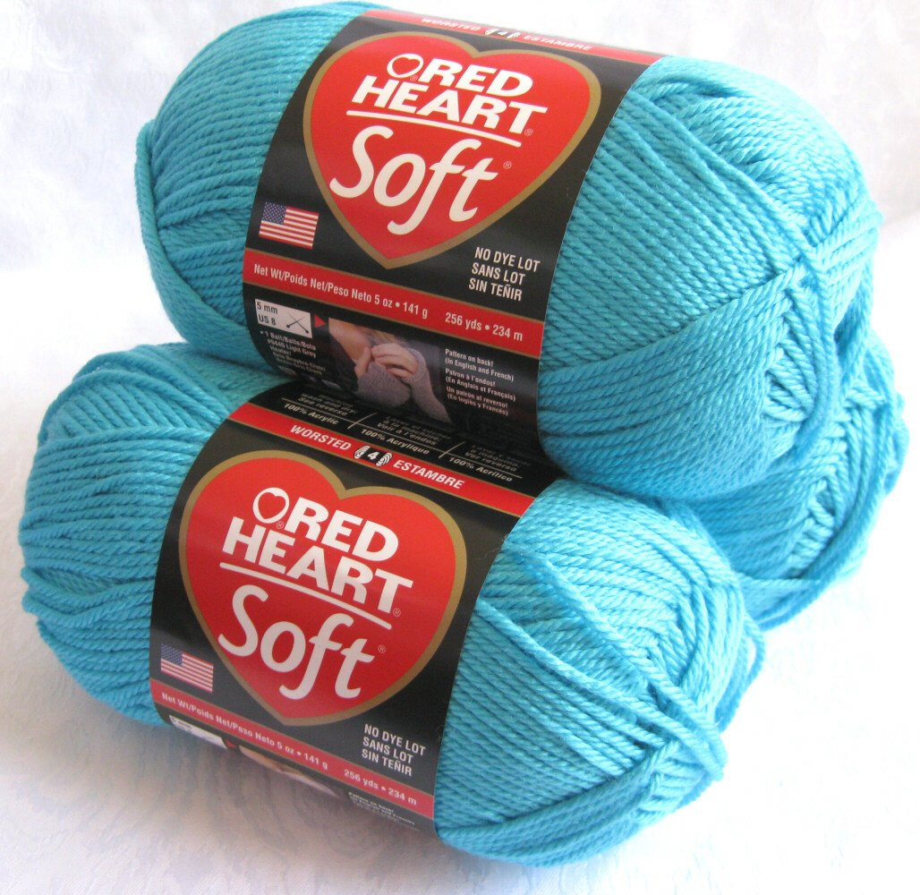 5 Weight Yarn Beautiful Red Heart soft Yarn Turquoise Medium Worsted Weight by Of Charming 47 Images 5 Weight Yarn