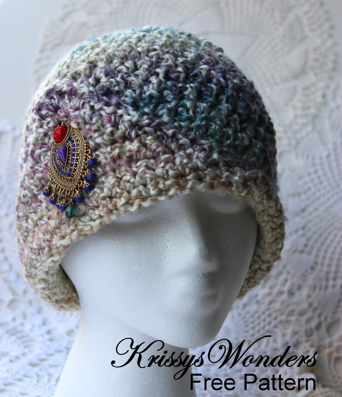 5 Weight Yarn Lovely Krissys Wonders La S Fancy Chemo Cap Made with 5 Of Charming 47 Images 5 Weight Yarn