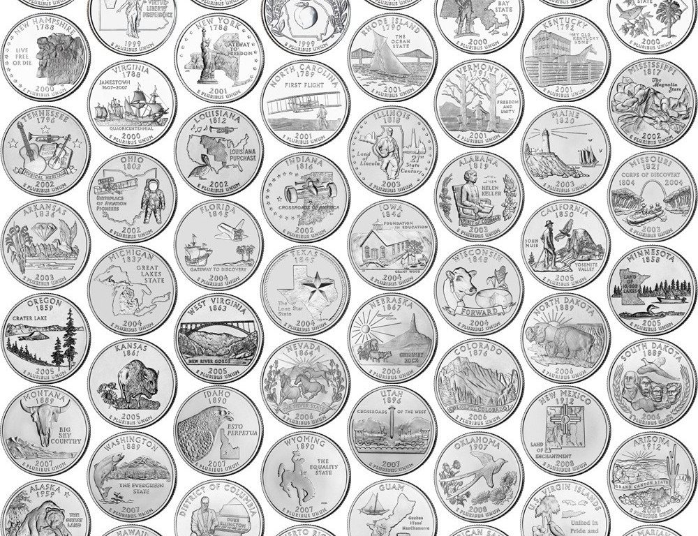 50 State Quarters Lovely Those 6 Best State Quarters – Those6things Of Great 48 Images 50 State Quarters