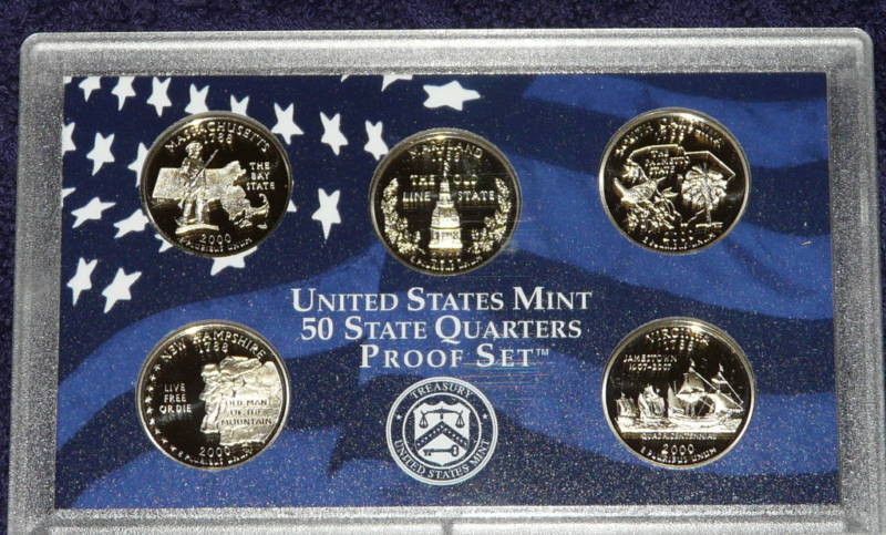 50 State Quarters Luxury 2000 United States Mint 50 State Quarters Proof Set Of Great 48 Images 50 State Quarters