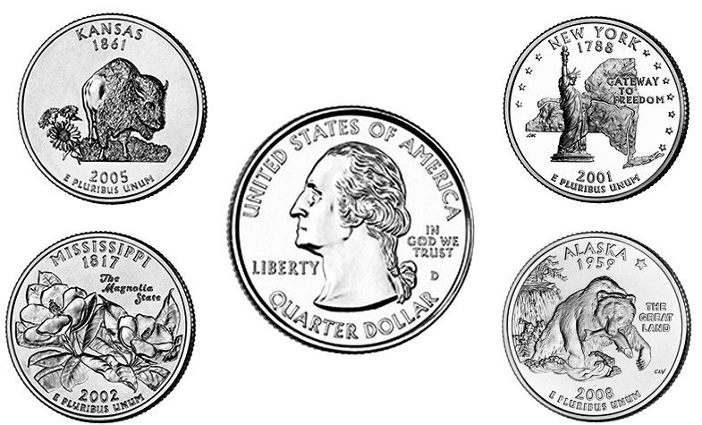 50 State Quarters Luxury the Most Valuable U S Coins Found In Circulation today Of Great 48 Images 50 State Quarters