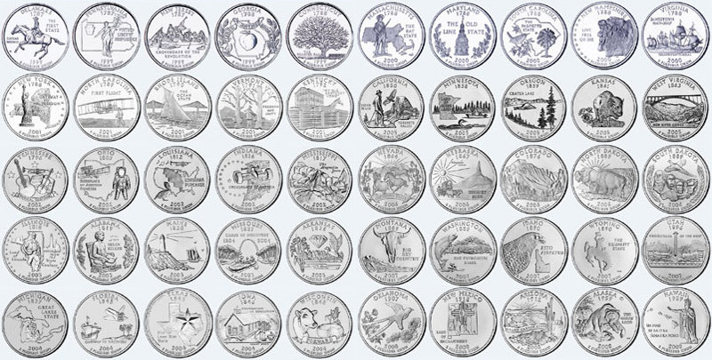 50 State Quarters Luxury U S Quarters Coins Of Great 48 Images 50 State Quarters