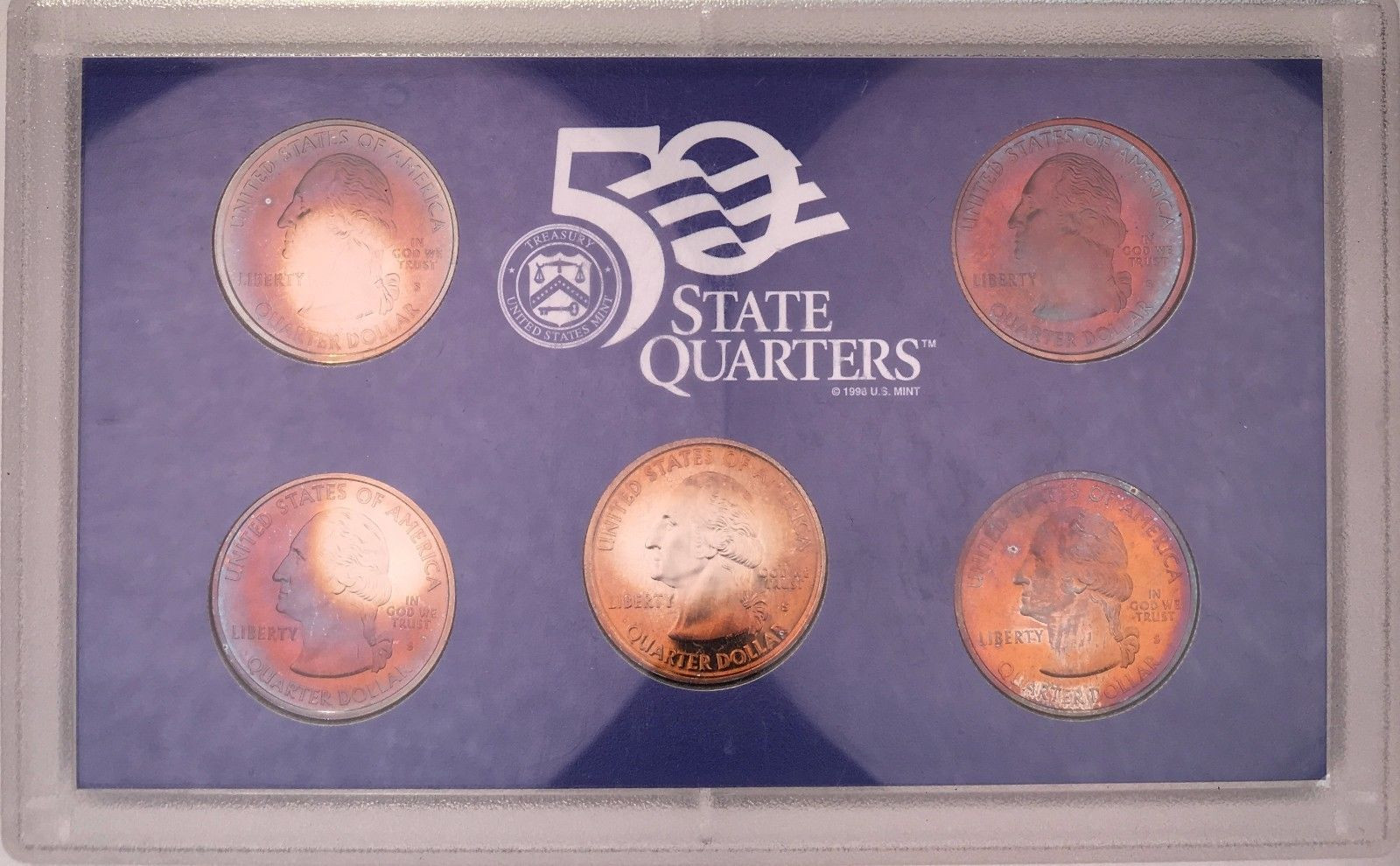 50 State Quarters New 2004 United States Mint 50 State Quarters Of Great 48 Images 50 State Quarters