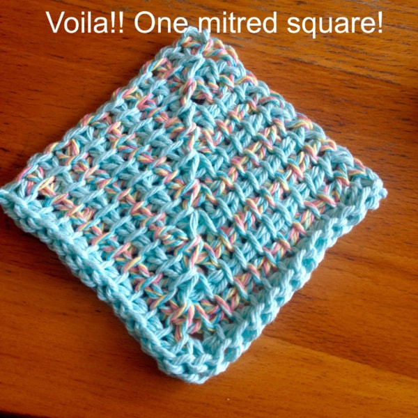 6.5 Mm Crochet Hook Inspirational Make A Mitred Dishcloth with Nicole From Tunisian Crochet Of Adorable 50 Models 6.5 Mm Crochet Hook