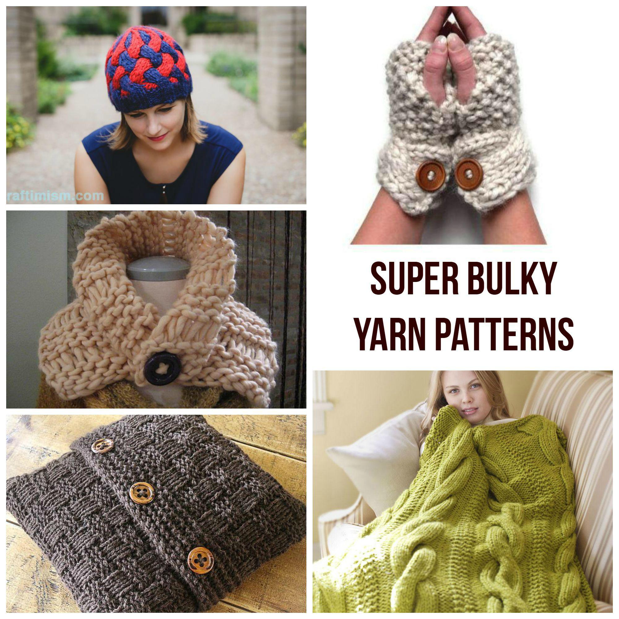 6 Super Bulky Yarn Inspirational Quick Knits Super Bulky Yarn Patterns Craftsy Of Gorgeous 50 Pics 6 Super Bulky Yarn