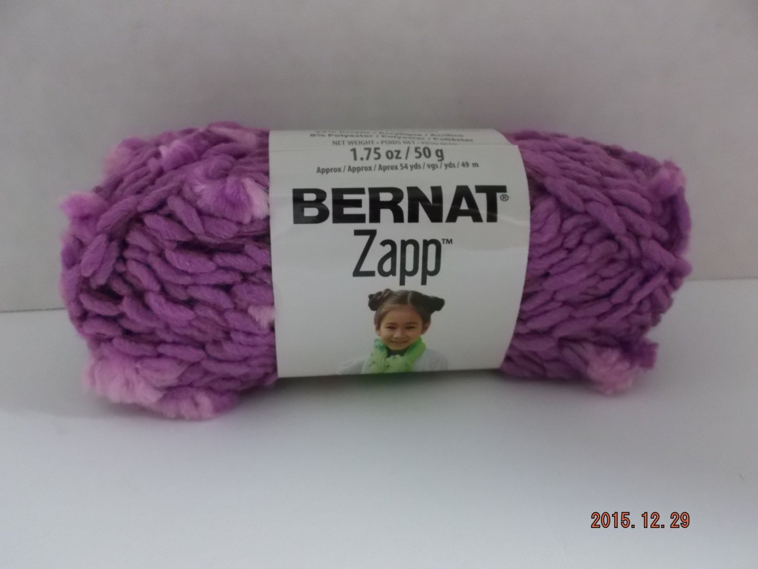 "6 Super Bulky Yarn Luxury Bernat Zapp Yarn "" Grape to Meet You "" 6 Super Bulky 50 Of Gorgeous 50 Pics 6 Super Bulky Yarn"