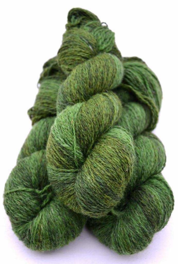6 2 41 Green variegated 85 g 2 ply Sport Weight