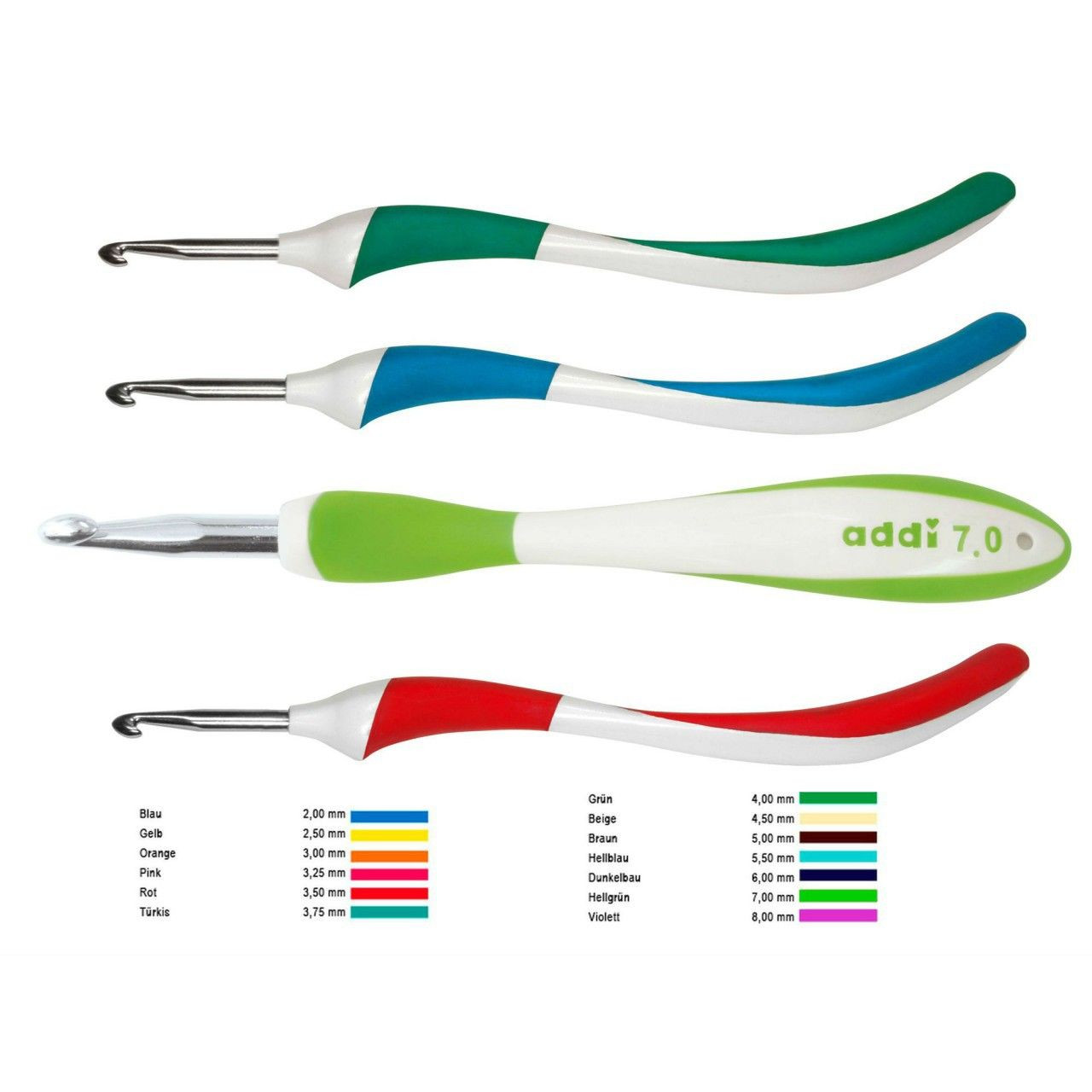 Addi Crochet Hooks Best Of Crochet Addi Swing Crochet Hooks Sizes 2mm to 8mm Of Adorable 43 Pictures Addi Crochet Hooks