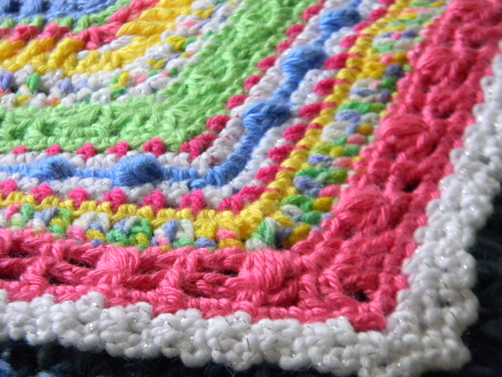 Bizzy Crochet Faeries Sampler Baby Afghan Pattern