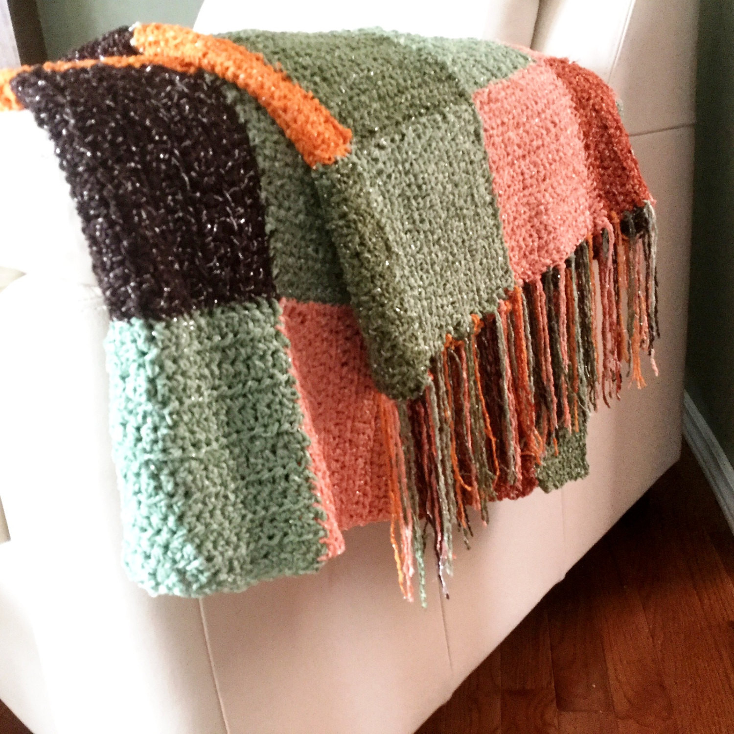Afghan Blanket New Throw Blanket with Fringe Crocheted Multicolored Afghan with Of Amazing 48 Photos Afghan Blanket
