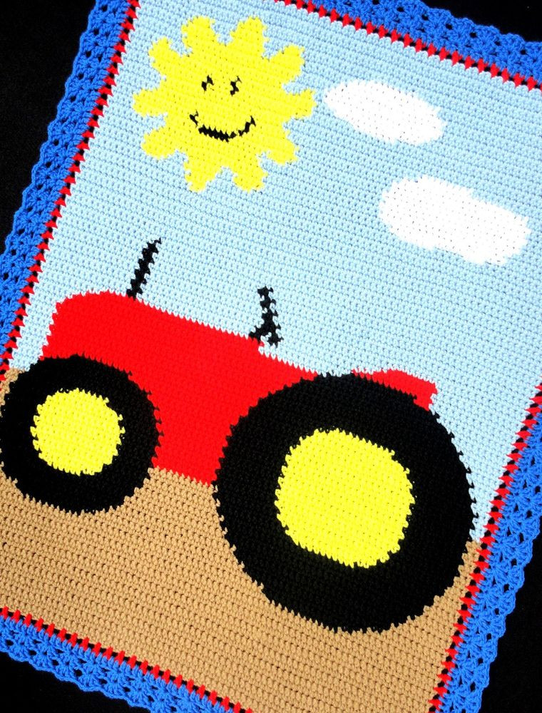 Afghan Blanket Pattern Awesome Crochet Patterns Farm Tractor Afghan Pattern Easy Of Attractive 40 Pics Afghan Blanket Pattern