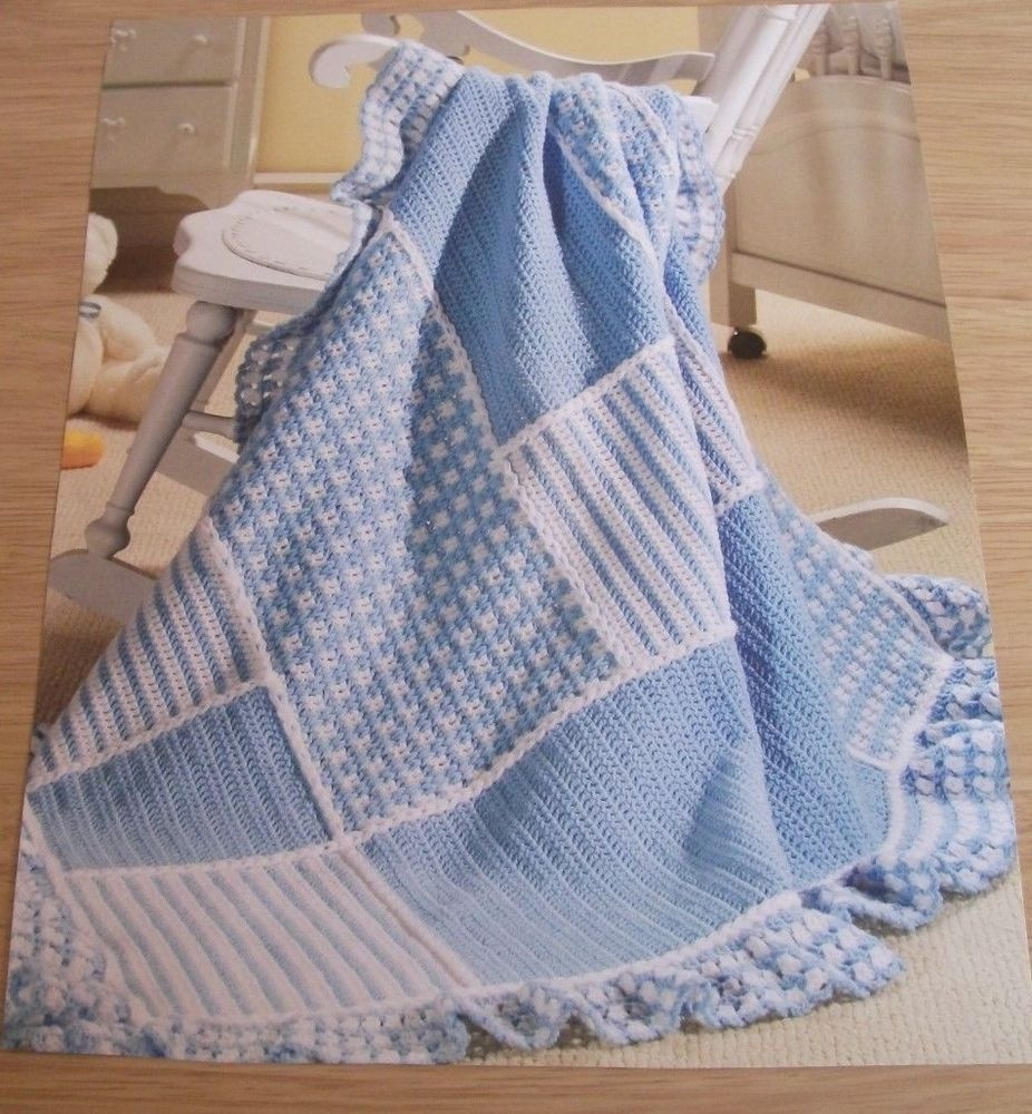 Afghan Crochet Patterns for Beginners Beautiful Crochet Pattern to Make Patchwork Baby Afghan Blanket Of Amazing 48 Models Afghan Crochet Patterns for Beginners
