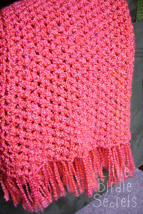 quick and simple crocheted afghan