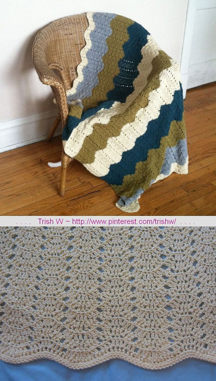 Afghan Crochet Patterns for Beginners New 78 Images About Crochet Rippled Afghan On Pinterest Of Amazing 48 Models Afghan Crochet Patterns for Beginners