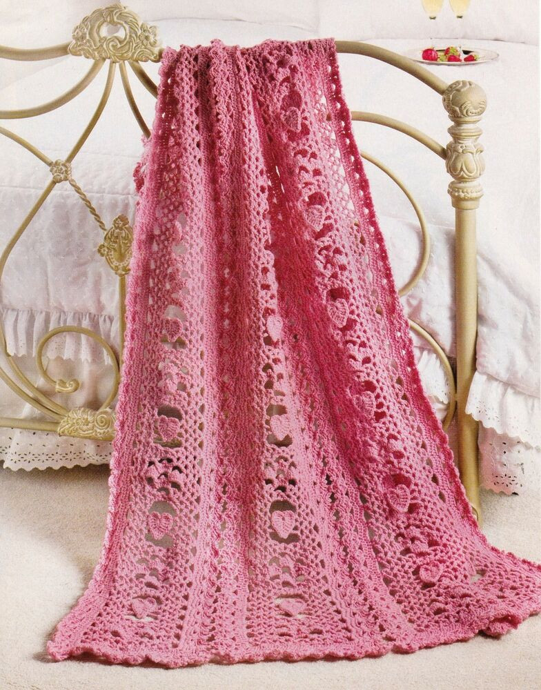 Afghan Patterns New Lovely Queen Of Hearts Afghan Crochet Pattern Instructions Of Lovely 45 Ideas Afghan Patterns