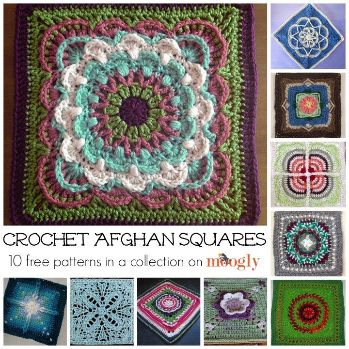 Afghan Square Crochet Patterns Luxury Beautiful Free and New Crochet Afghan Squares Moogly Of Amazing 50 Pics Afghan Square Crochet Patterns