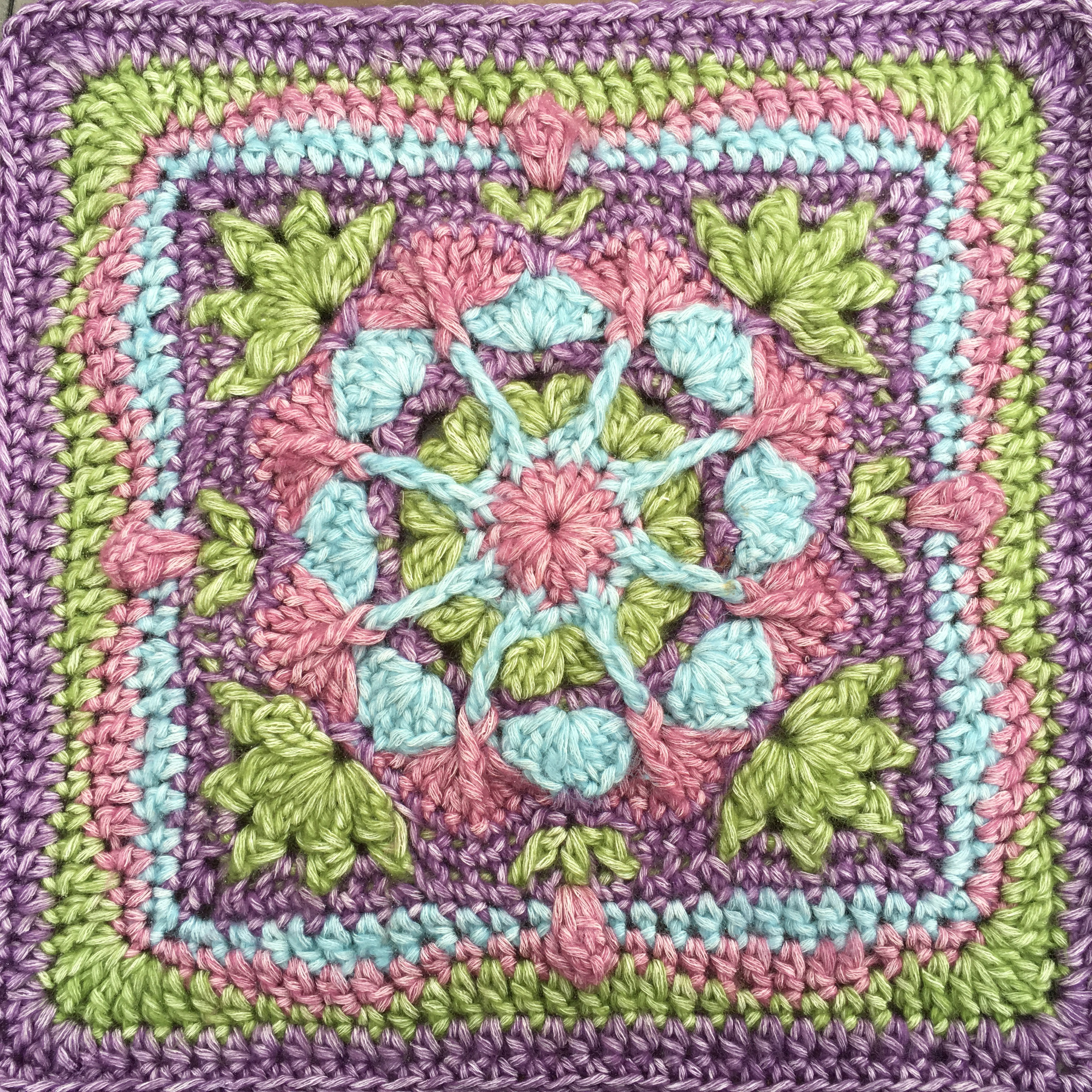 Afghan Square Crochet Patterns New New Afghan Square Design English Garden Afghan Square Of Amazing 50 Pics Afghan Square Crochet Patterns