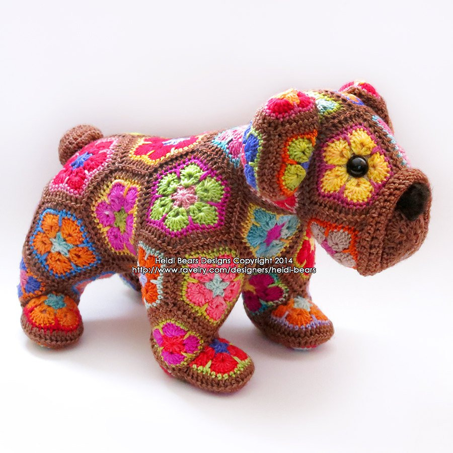 African Flower Crochet Pattern Best Of Max the African Flower Bulldog Crochet Pattern Of Wonderful 50 Models African Flower Crochet Pattern