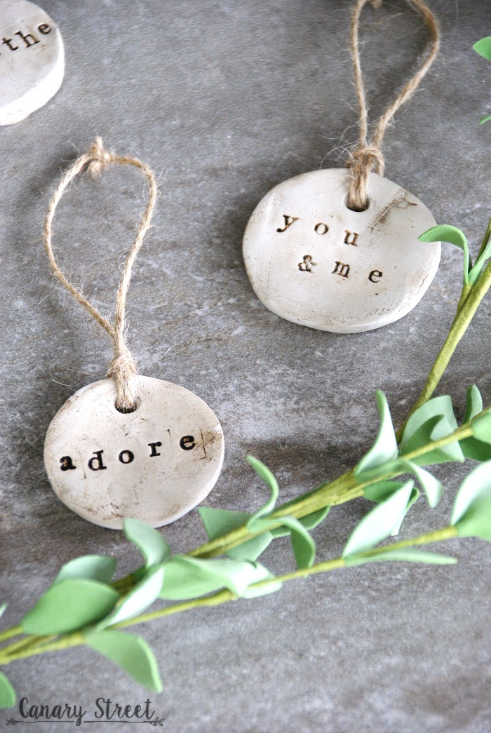 Air Dry Clay Fresh Diy Rustic Clay Tags Canary Street Crafts Of Top 47 Images Air Dry Clay