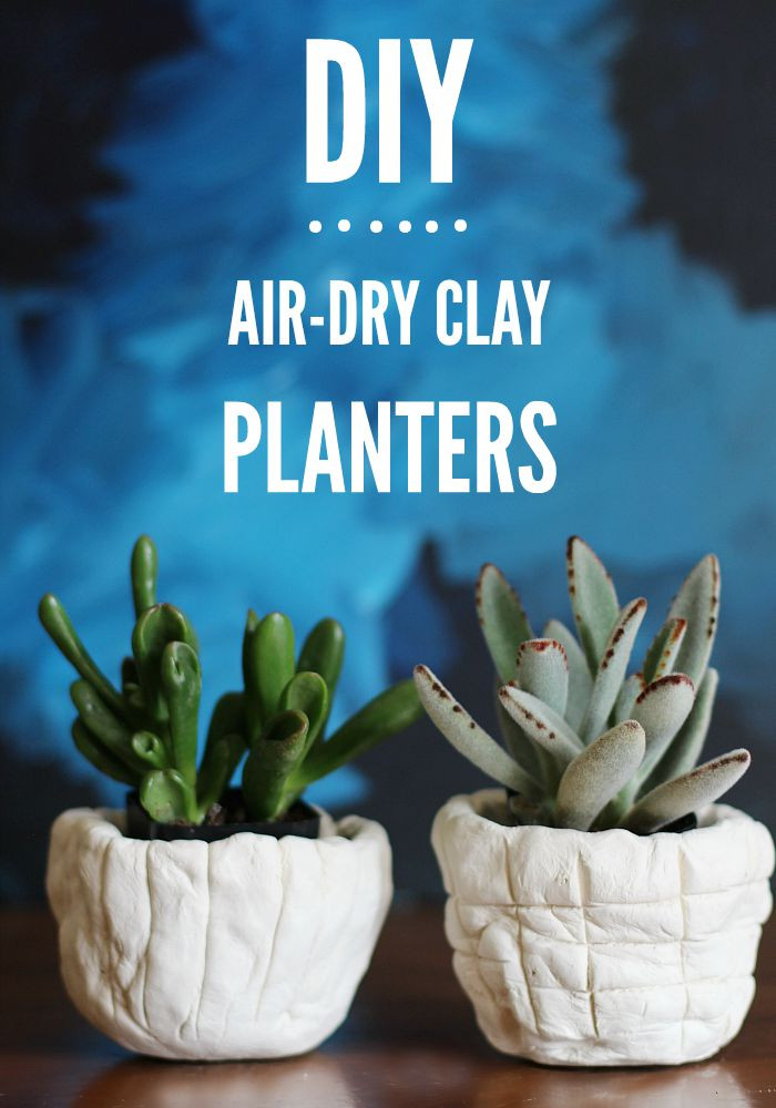 Air Dry Clay Luxury Diy Air Dry Clay Planters Of Top 47 Images Air Dry Clay