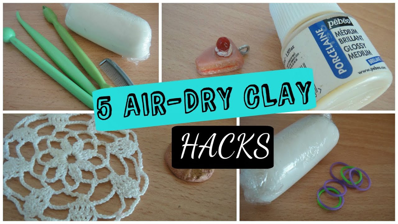 Air Dry Clay New 5 Air Dry Clay Hacks Of Top 47 Images Air Dry Clay