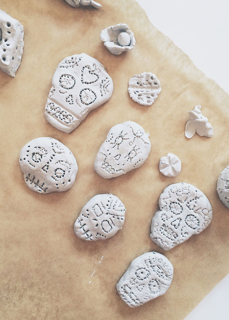 Air Dry Clay New Make An Air Dry Clay Sugar Skull Bead Necklace Of Top 47 Images Air Dry Clay