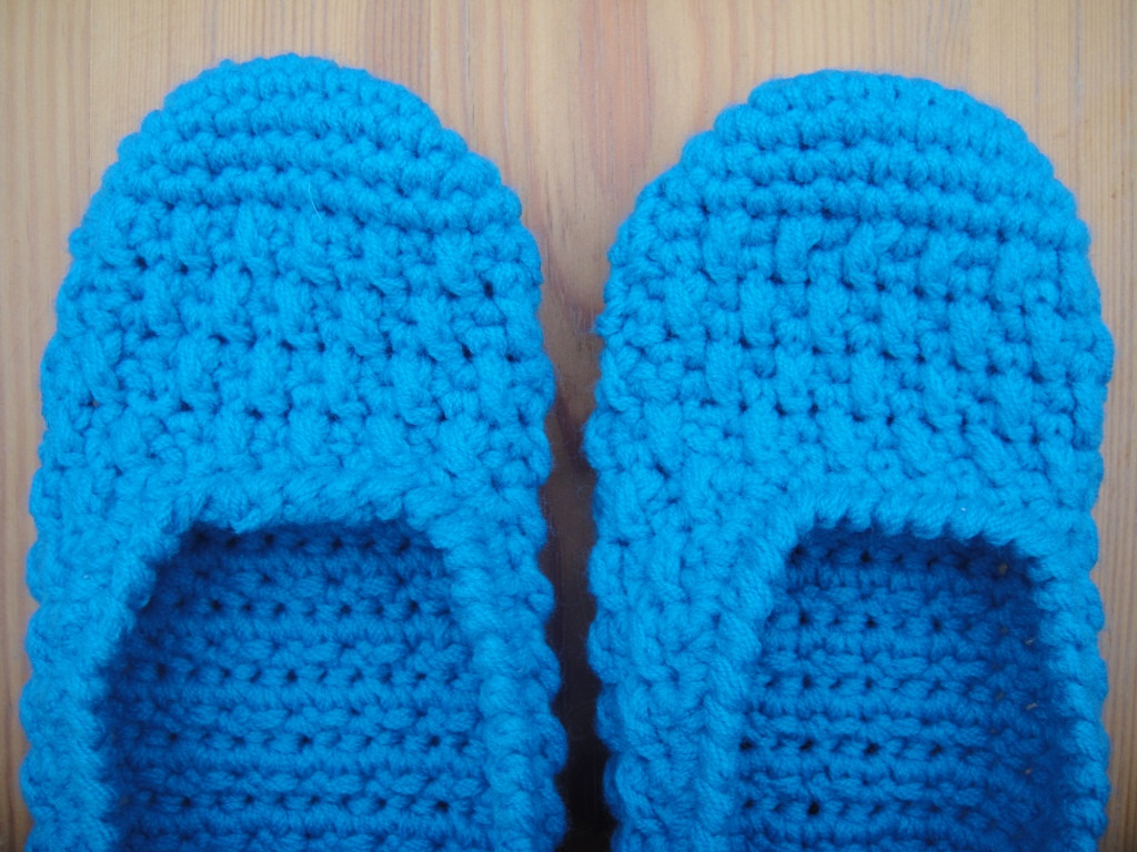 FREE CROCHET SLIPPER PATTERN FOR ADULT