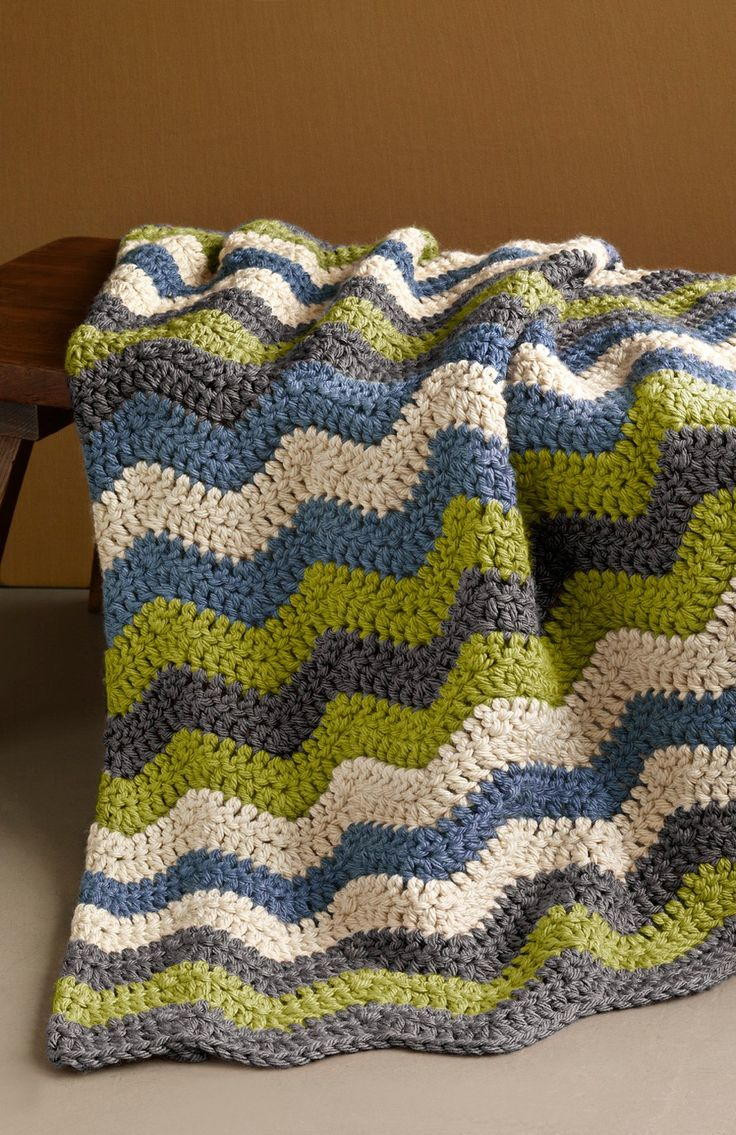All Free Crochet New Manly Ripple Afghan Of Perfect 41 Ideas All Free Crochet