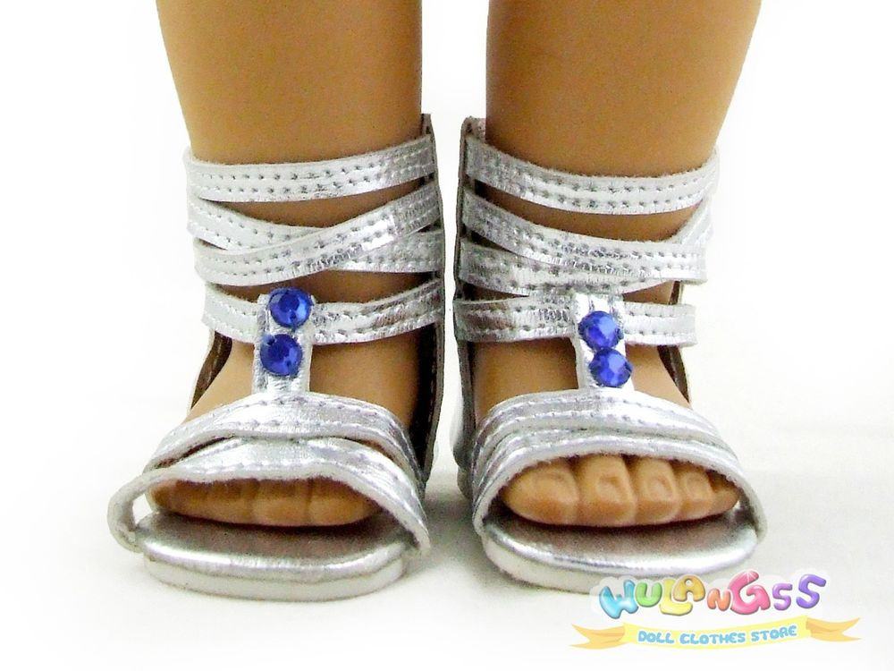 American Girl Doll Shoes Elegant Doll Shoes Fits 18 American Girl Sliver Punk Sandals Of Attractive 48 Models American Girl Doll Shoes