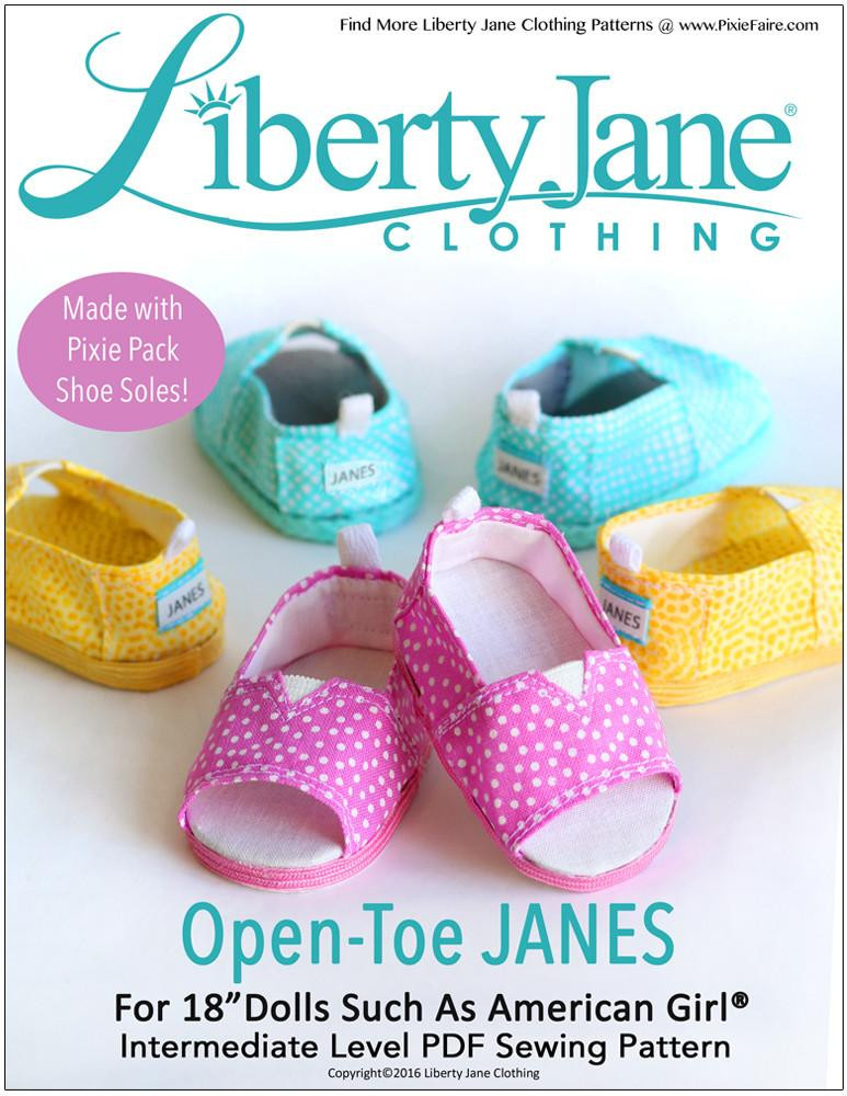 American Girl Doll Shoes Elegant Liberty Jane Open toe Janes Doll Clothes Pattern 18 Inch Of Attractive 48 Models American Girl Doll Shoes