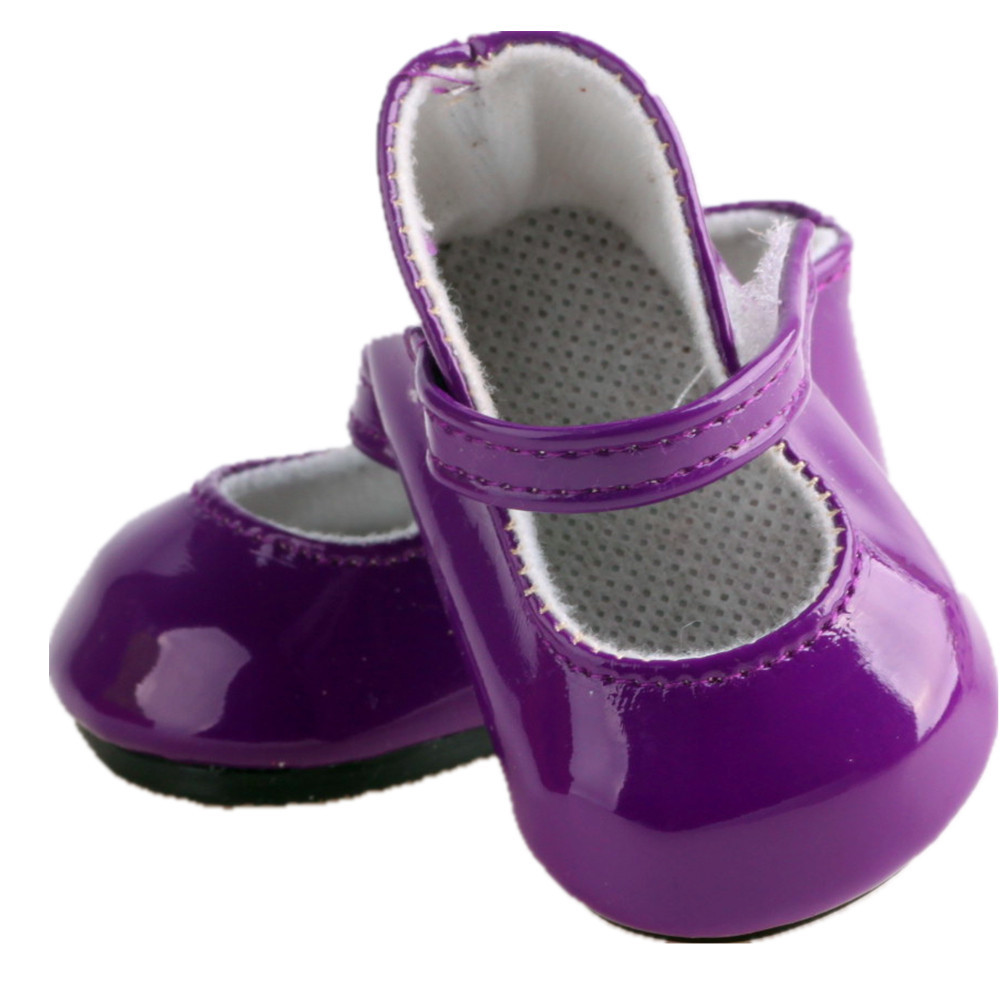 American Girl Doll Shoes Lovely Aliexpress Buy 2016 New Arrival Purple Leather Shoes Of Attractive 48 Models American Girl Doll Shoes