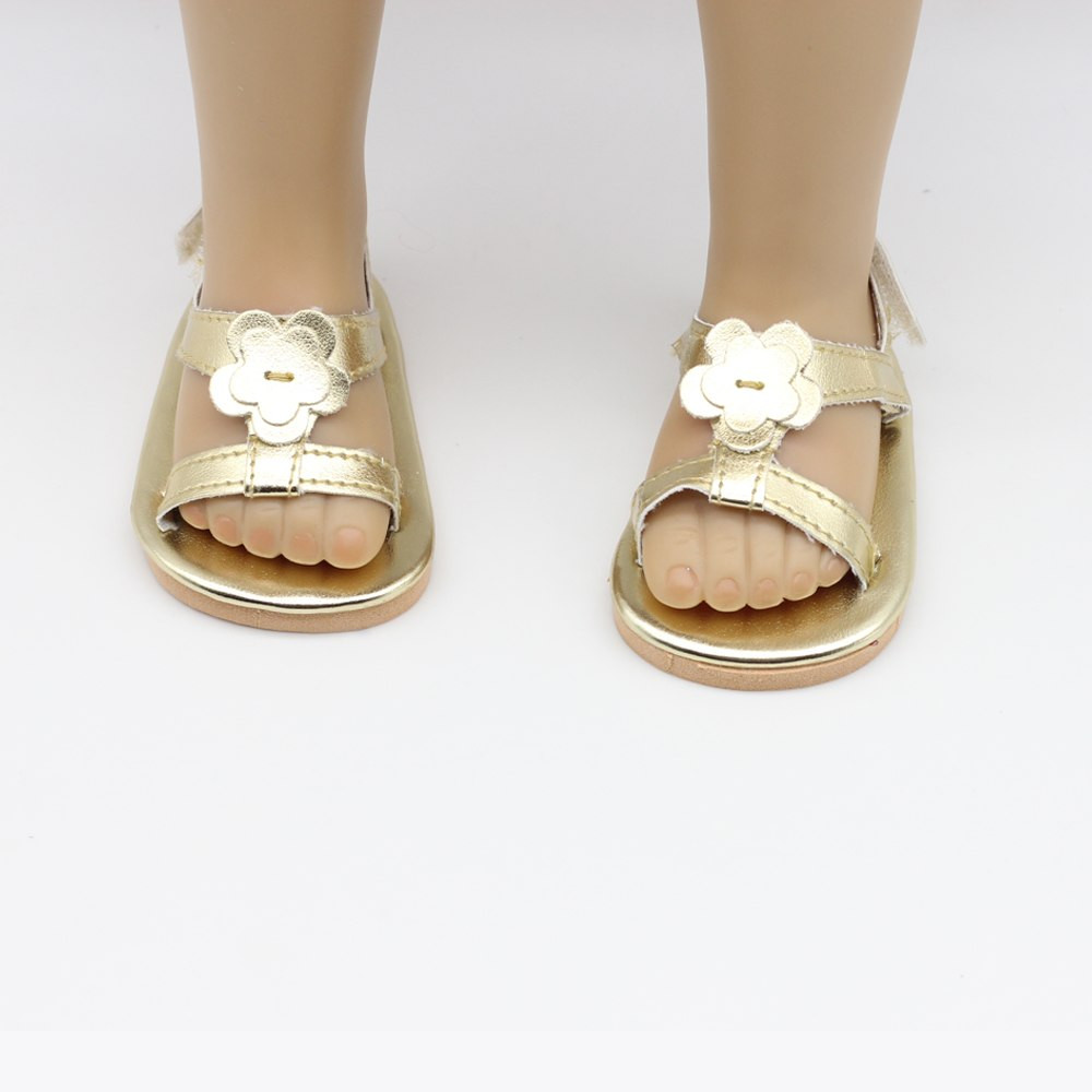 """American Girl Doll Shoes Luxury Doll Golden Sandals Doll Shoes for 18"""" Inch American Girl Of Attractive 48 Models American Girl Doll Shoes"""