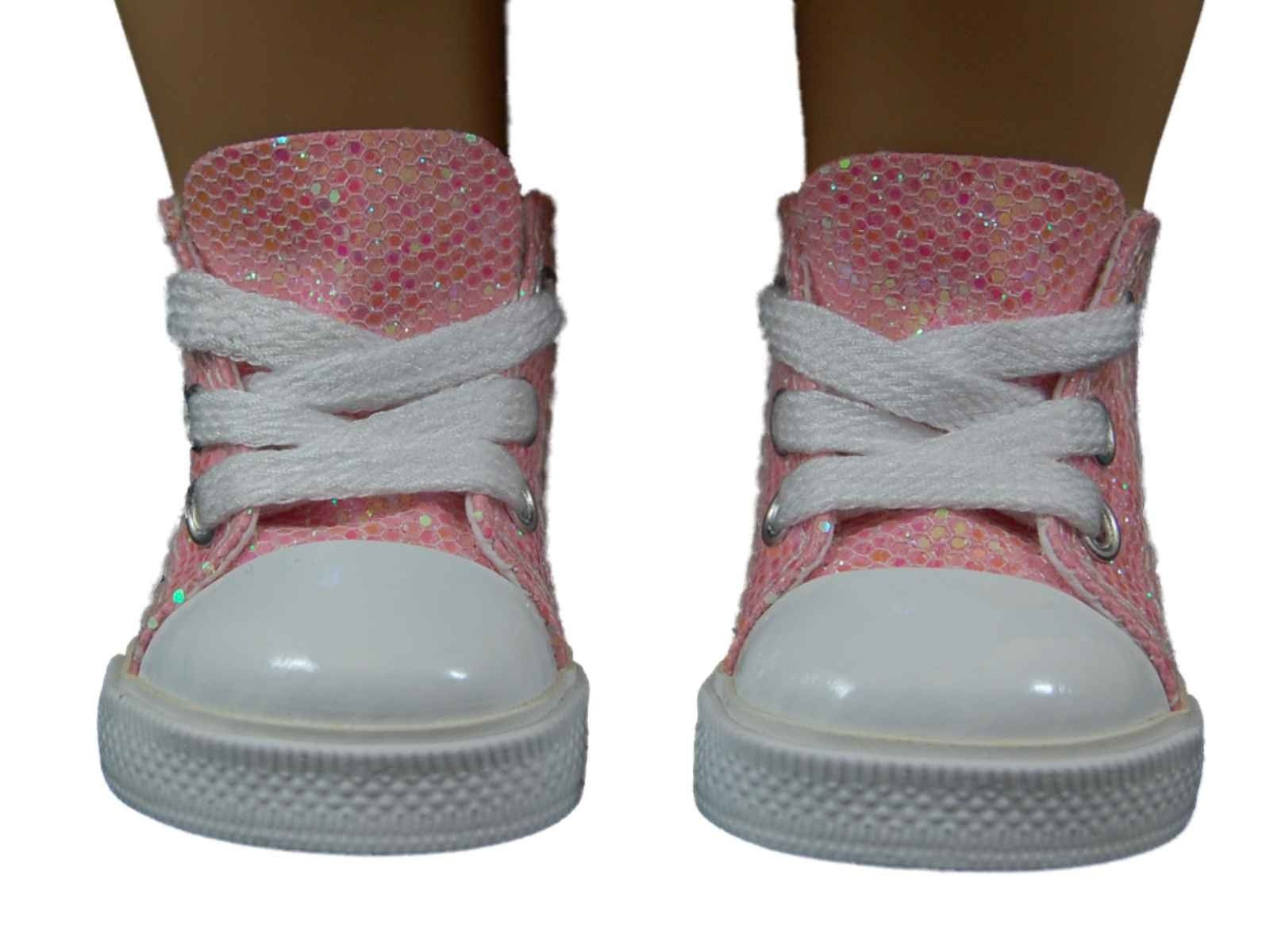 """American Girl Doll Shoes Unique Pink High top Sneakers Shoes for 18"""" American Girl¨ Doll Of Attractive 48 Models American Girl Doll Shoes"""