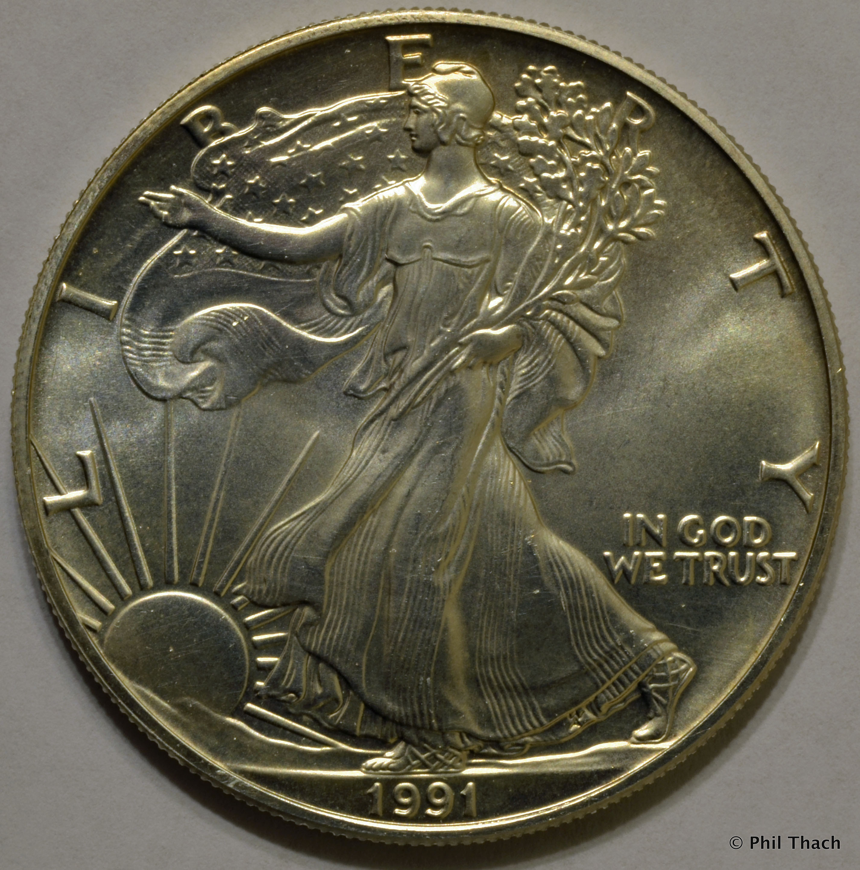 American Silver Eagle Best Of 1991 American Silver Eagle Of Perfect 48 Models American Silver Eagle