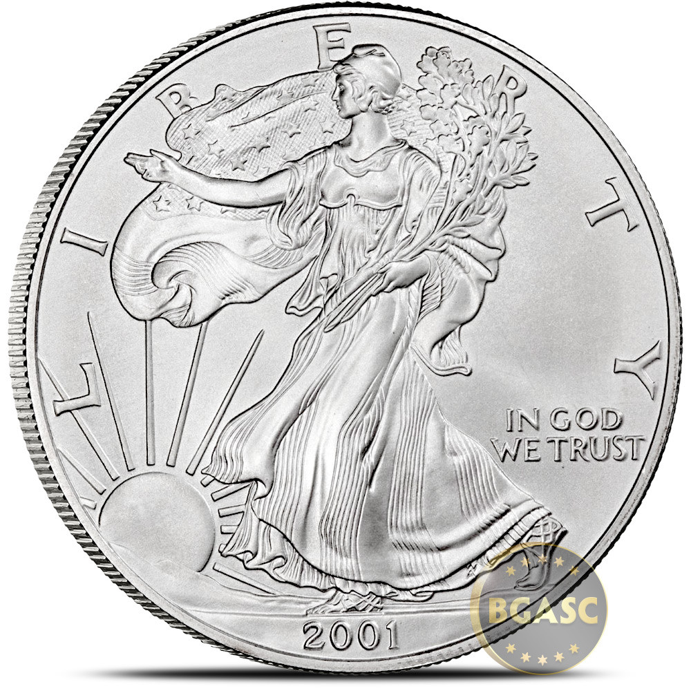 American Silver Eagle Best Of Buy 2001 1 Oz American Silver Eagle Bullion Coin 999 Fine Of Perfect 48 Models American Silver Eagle