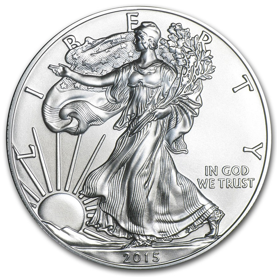 American Silver Eagle Inspirational 2015 W Burnished Silver American Eagle W Box & Coa Of Perfect 48 Models American Silver Eagle