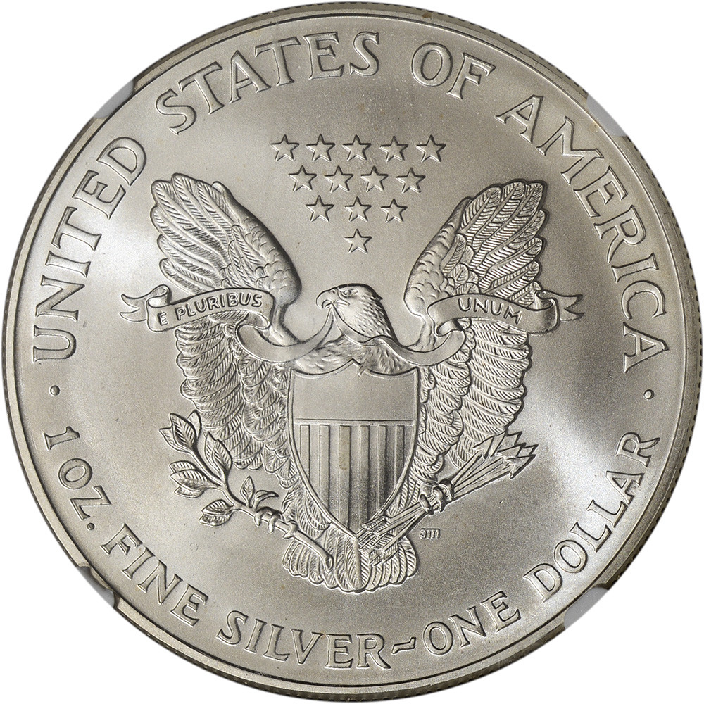 American Silver Eagle Lovely 1995 American Silver Eagle Ngc Ms69 Of Perfect 48 Models American Silver Eagle