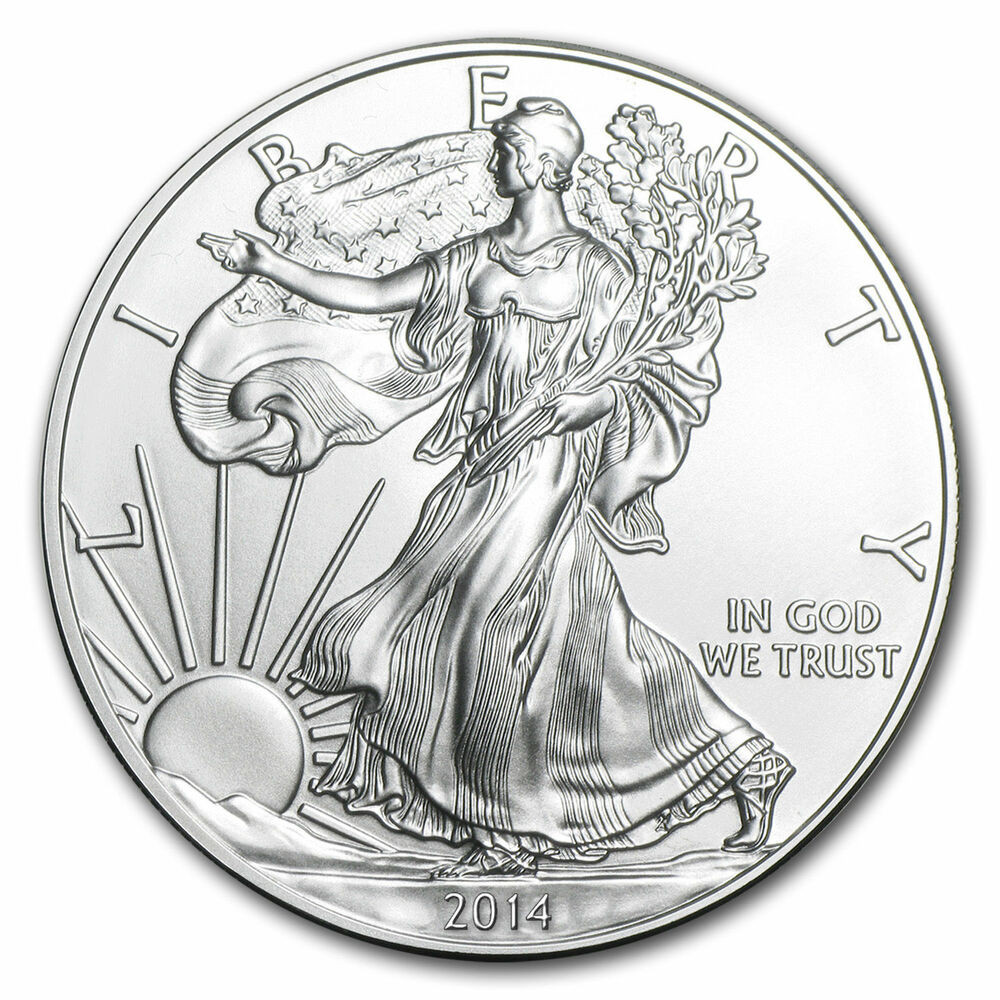 American Silver Eagle Luxury 2014 American Silver Eagle Dollar Usa Coin 1 Troy Ounce Of Perfect 48 Models American Silver Eagle