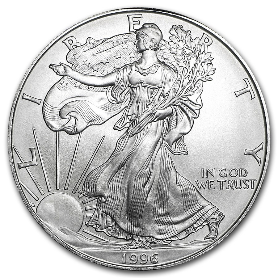 American Silver Eagle Unique Buy 1996 Silver Eagle Coin Of Perfect 48 Models American Silver Eagle