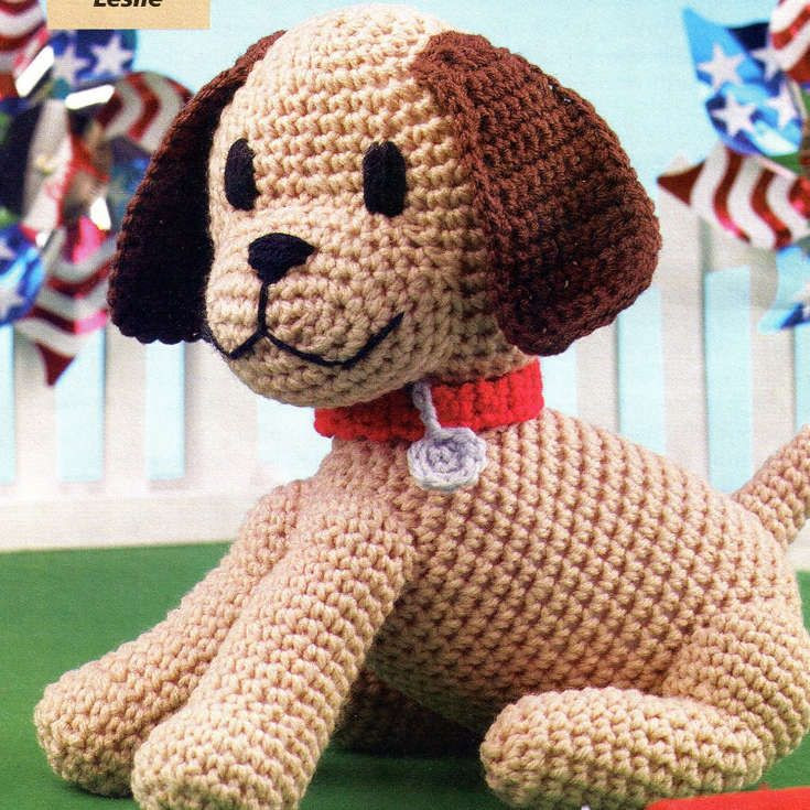 Amigurumi Dog Pattern Free Awesome 17 Best Images About Crochet Dogs Puppies On Pinterest Of New 47 Pics Amigurumi Dog Pattern Free