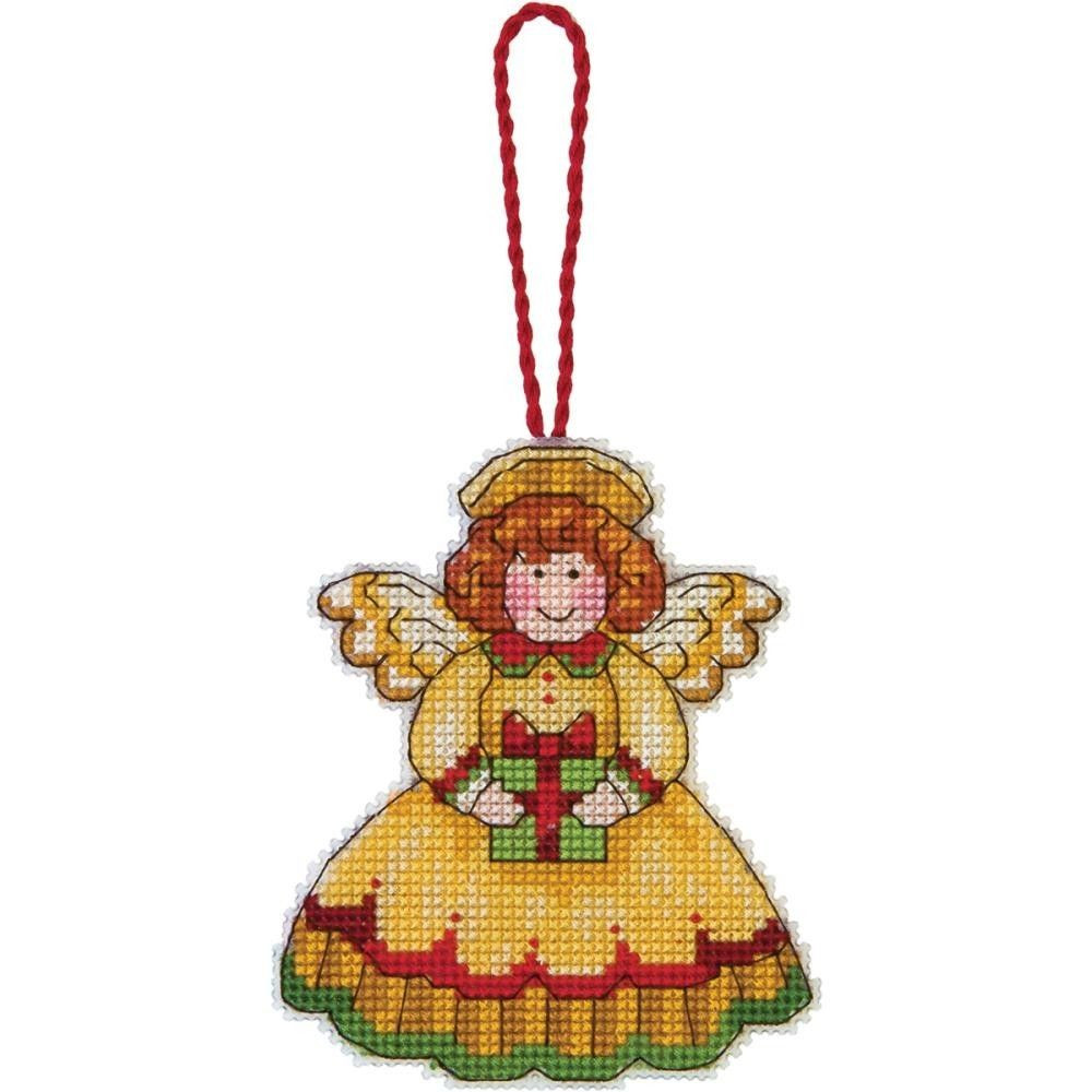 Angel Christmas ornaments Beautiful Angel Christmas Tree ornament Counted Cross Stitch Kit Of Gorgeous 40 Photos Angel Christmas ornaments