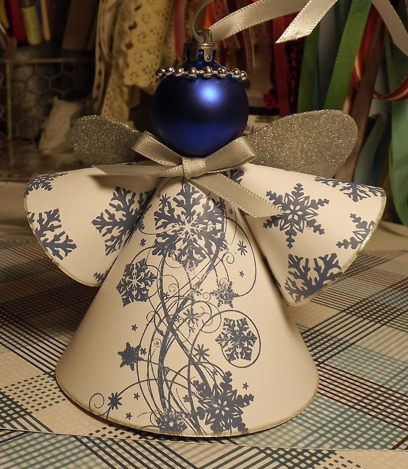 Angel Christmas ornaments Beautiful Paperie Petals Christmas Angel Of Gorgeous 40 Photos Angel Christmas ornaments