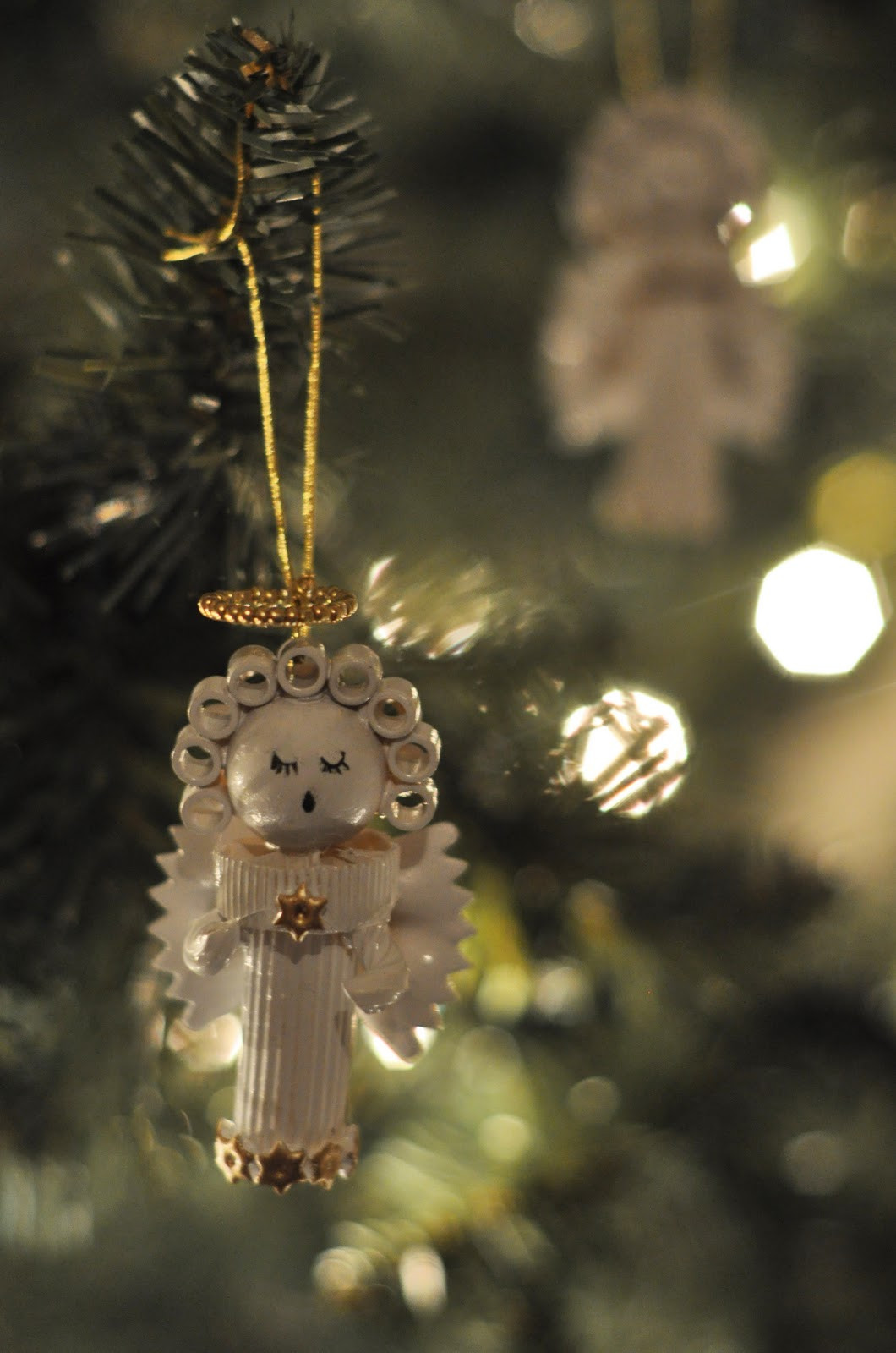 Angel Christmas ornaments Best Of Dried Pasta Angel ornament by Jessica at Craftily Ever Of Gorgeous 40 Photos Angel Christmas ornaments
