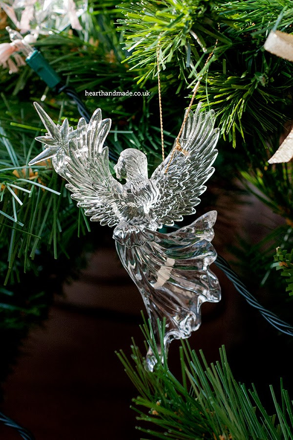 Angel Christmas ornaments Best Of Quite Pastel Heart Handmade Christmas Of Gorgeous 40 Photos Angel Christmas ornaments