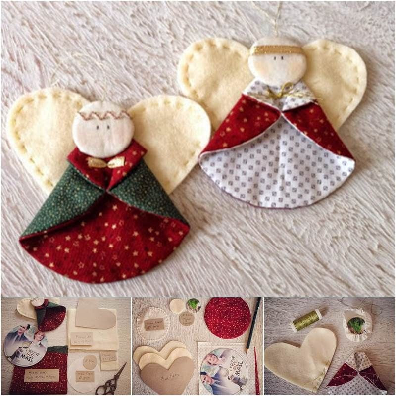 Angel Christmas ornaments Lovely 18 Best S Of Easy Quilted Christmas ornaments No Of Gorgeous 40 Photos Angel Christmas ornaments