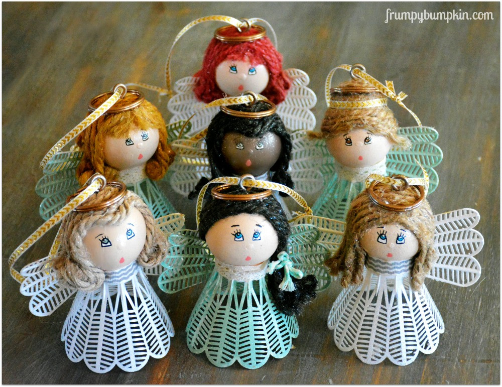Angel Christmas ornaments Lovely 6 Diy Christmas Angel ornaments & Decorations Diy thought Of Gorgeous 40 Photos Angel Christmas ornaments